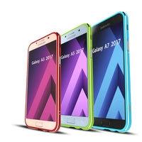 High Quality Ultra Thin Slim Aluminum Metal Bumper Frame Case For Samsung Galaxy A3 A5 A7