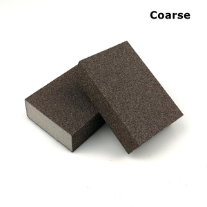 Image 3 - 20 pieces Sanding Sponge Block Abrasive Foam Pad for Wood Wall Kitchen Cleaning Hand Grinding