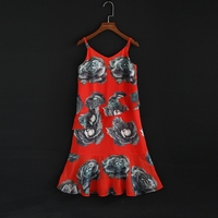 Summer family look baby clothes children clothing vacation dress kids infant girl holiday slip dress mother daughter beach dress