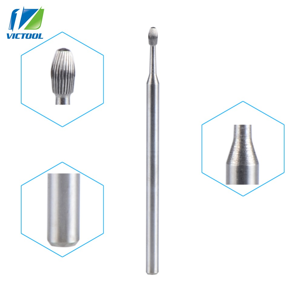 High Quality Tungsten Carbide Nail Dril Bit For Cuticle Clean Pro Tools For Electric Manicure Pedicure Machine TB049