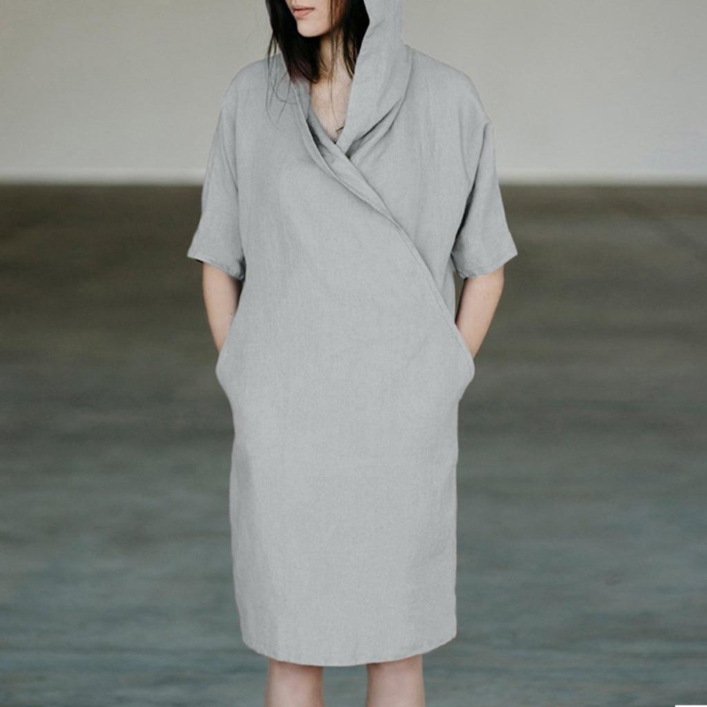 2020 Dresses for Women Autumn Winter Plus Size New Cotton Line Dress Print Long Sleeve Vestidos Vintage Dress Robe