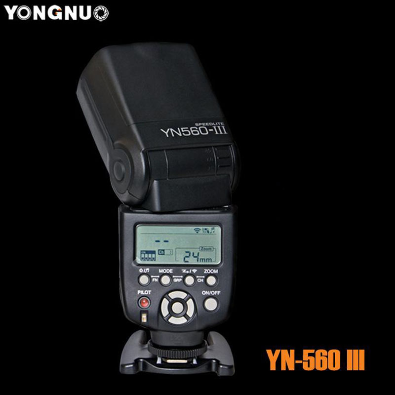 YONGNUO YN-560 III Camera Flash Speedlite for Nikon D700 D7200 D7100 D7000 D5300 D5200 D5100 D5000 D5100 D3000 D90 D80 D70 D60