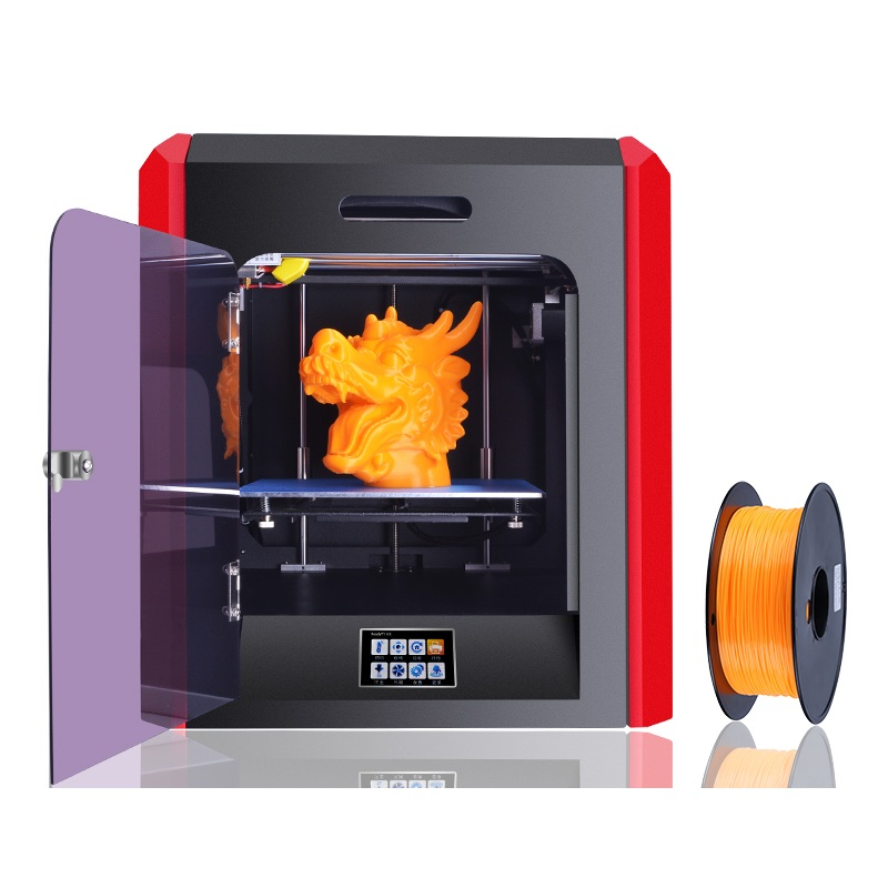 2017 HOTTEST High Precision Reprap Prusa 3D Printer Full kit Direct Extruder Self Leveling Touch Free Shipping SD Card Filament high precision reprap prusa i3 3d printer diy kit bowden extruder easy leveling acrylic lcd free shipping sd card filament tool