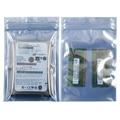 Антистатическая защитная сумка на молнии, 50 шт., сумки ESD 4x6 дюймов, закрывающаяся Антистатическая сумка на молнии для SSD HDD и электронных устр...