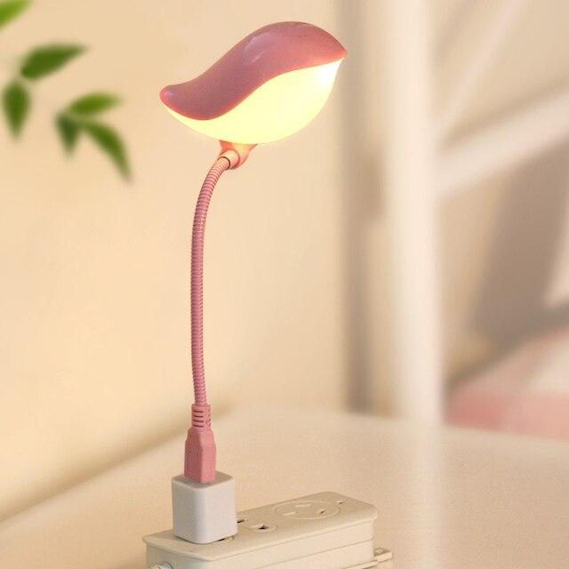 Neuheit Led nachtlicht Tischlampen USB Vogel Hause Beleuchtung Für ...