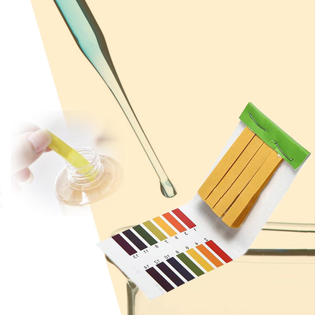 PH Meters PH Test Strips 80 Strips Indicator Test Strips 1-14 Paper Litmus Tester insta test lamotte test strips insta test 3 way 2976