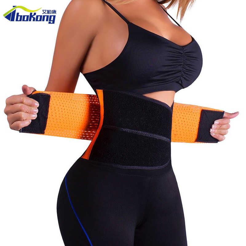 Талии тренер человек для женщин Thermo мощность горячие тренажерный зал Shaper Пояс под грудью управление для похудения