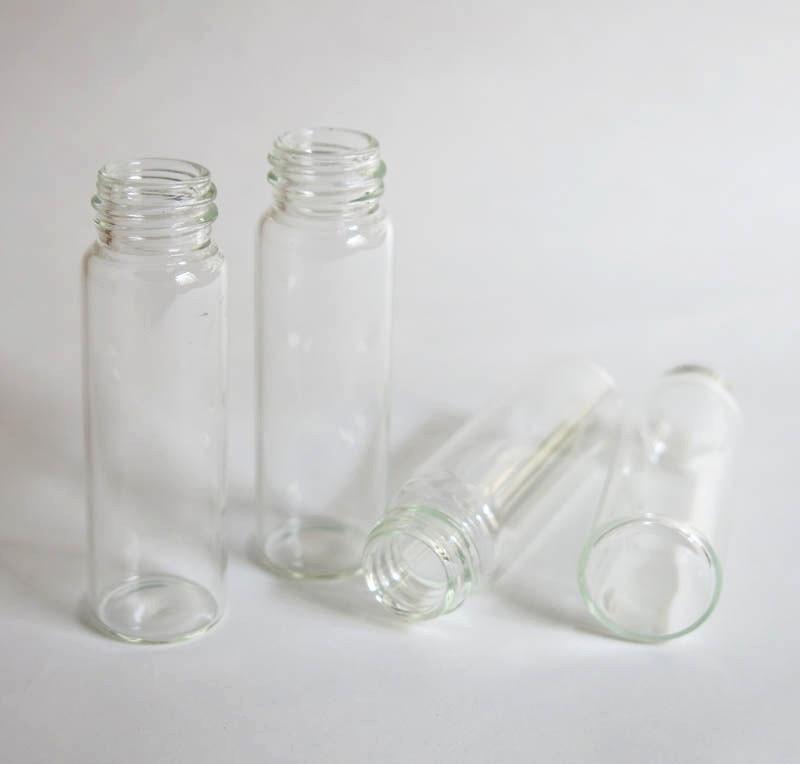 atacado 15 ml garrafa transparente de vidro 04