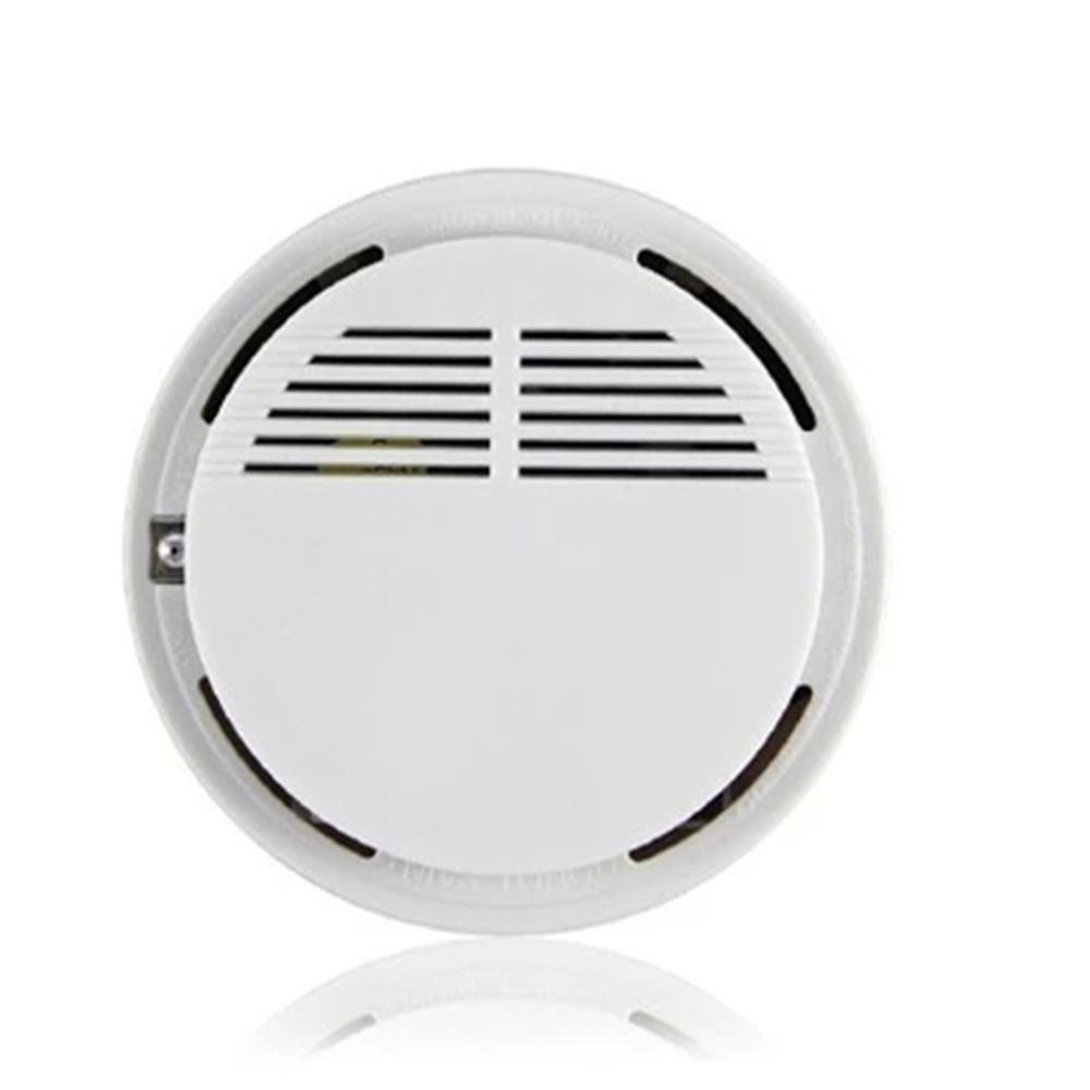 New Wireless Smoke Detector Home Security Standalone Smoke Detector Fire Alarm Photoelectric Sensor Security System Cordless
