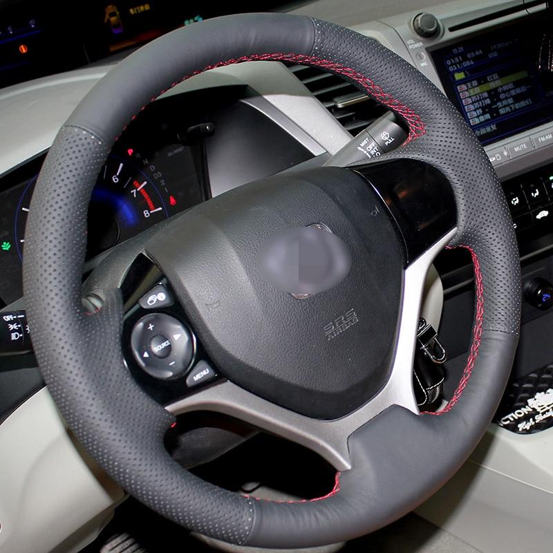 Honda Civic 2012 -2014 үшін қолмен тігілген - Автокөліктің ішкі керек-жарақтары - фото 2