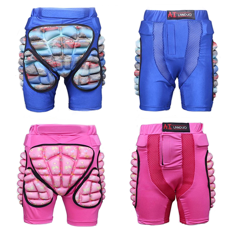 Kids Sports Skateboarding Skiing Snowboarding Shorts Protective Hip Padded For Roller Impact Protection Snow Motorcycle Pad Gear motorcycle protective shorts motorcross dh bike skating ski skateboarding armor shorts extreme sport protective gear hip pad