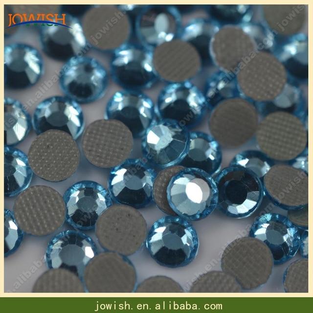 SS20 Aquamarine 100gross   bag Iron on transfer korean crystal rhinestone  DIY strass stone for clothes ad7c44bde7ae
