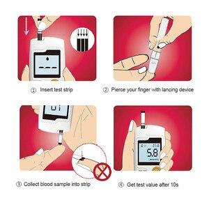 Image 5 - جهاز قياس السكر بالدم وشرائط الاختبار والسنون من Cofoe ييلي ، جهاز قياس السكر بالدم ، جهاز فحص سكر الدم الطبي ، جهاز غلوكمتر للأشخاص