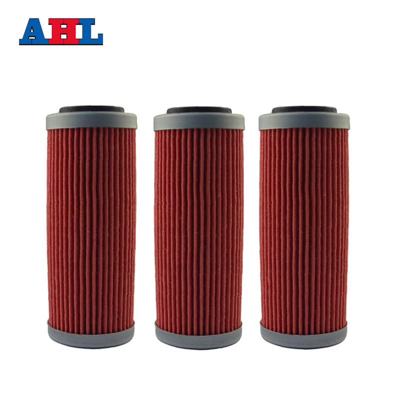 3Pcs Motorcycle Engine Parts Oil Grid Filters For <font><b>KTM</b></font> SX-<font><b>F</b></font> 349 / <font><b>350</b></font> XC-<font><b>F</b></font> <font><b>350</b></font> 2011-<font><b>2016</b></font> 400 <font><b>EXC</b></font> 400 2008-2011 Motorbike Filter image