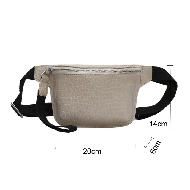 CROWDALE Women bag crocodile multicolor messenger chest bag clutch female Pu leather handbag cross body bag Fashion high quality 3