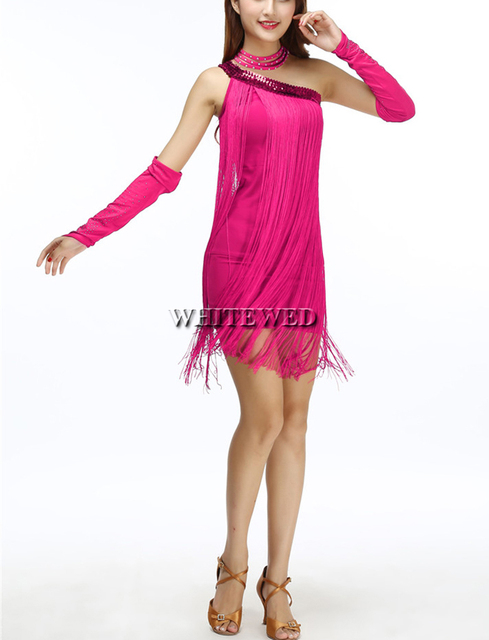 377bf178c818b Cheap Modern Cute One Shoulder Sequin 1920s 20s Fringe Flapper Inspired  Style Dress for Sale Red