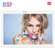 10 inch Original 3G 4G Phone Call Dual SIM card Android 5.1 octa core 1920*1200 IPS WiFi GPS tablet pc RAM 4GB ROM 64GB Tablets