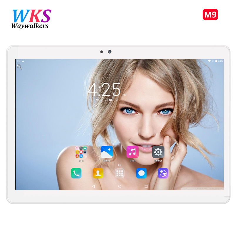 10 inch Original 3G 4G Phone Call Dual SIM card Android 5.1 octa core 1920*1200 IPS WiFi GPS tablet pc RAM 4GB ROM 64GB Tablets 10 inch tablet pc android 7 0 1920 1200 ips 4gb ram 128gb rom 4g fdd lte phone call octa core gps tablet wifi bluetooth