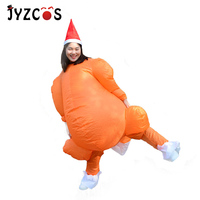 Christmas Inflatable Clothes Thanksgiving Day Turkey Costume Cartoon Walking Doll Festival Party Costume