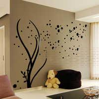 Accesorios estrellados pegatinas de pared de cristal acrílico FONDO DE TV decoración de arte DIY pegatinas de pared impermeables para el hogar