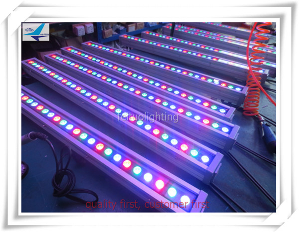 6pcs Outdoor concert led wash wall light outdoor 36pcs 3w led wall washer rgb