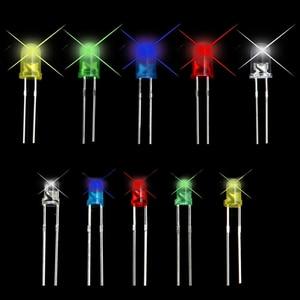 Image 5 - 150 adet 3/5mm LED diyotlar ışık yayan diyot çeşitli kiti beyaz sarı kırmızı mavi yeşil DIY ışık yayan diyot ev için aletleri