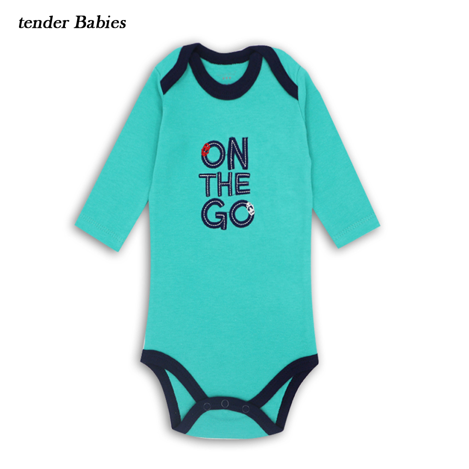 Newborn Baby Boy Girl Long Sleeve kids summer clothes Outfits 100% Cotton Baby suit Boys Girls Clothes 2018 Baby boy Sets romper summer baby girl clothes newborn 3 piece clothing sets kids infant outfits suit girls bodysuit romper skirt headband