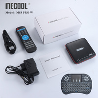 MECOOL M8S PRO W Android 7.1 Smart Android TV Box 2G RAM 16G ROM Amlogic S905W Support WiFi H.265 4K HD Media player