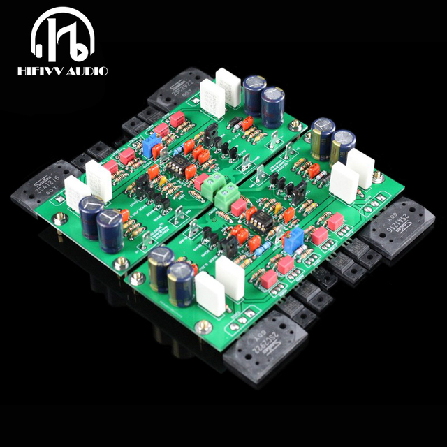 US $89 0 |Copy 933 Circuit finished amplifier board High power audio amp  board amplifier 2SC2922 2SA1216 accessories DIY test well board-in  Amplifier