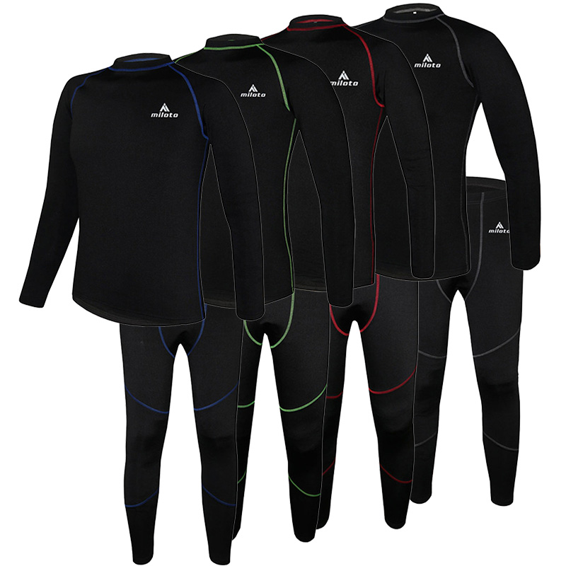 Long Sleeves Cycling Jersey Set Underwear Skinsuit Men Women MTB Road <font><b>Bike</b></font> <font><b>Wear</b></font> Autumn Winter Thermal Fleece Cycling Clothing image