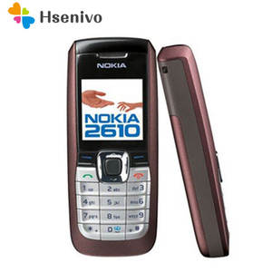 Nokia 2610 Original Unlocked GSM Refurbished Mobile-Phone Cheap MP3 Good-Quality Hebrew/arabic