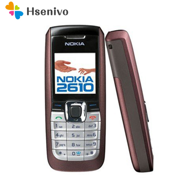 2610 Cheap Original Nokia 2610 Unlocked Mobile Phone MP3 GSM Cellphone Good Quality English/Russia/Hebrew/Arabic Free Shipping