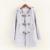TIC-TEC mujeres con botón de la bocina encapuchados abrigos chaquetas Parkas de algodón de otoño invierno de la manera más tamaño P2820