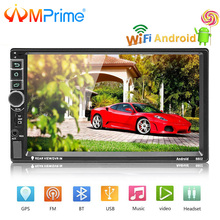 AMPrime Universal 2 din 7″ Car radio Android System Car Multimedia Bluetooth GPS Autoradio Touch Screen MP5 Player TF/USB/FM