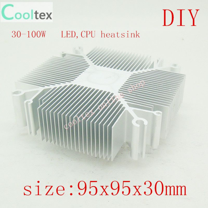 8pcs DIY Heatsink 30w-100w Pure aluminium heat sink for DIY intel LGA 1155/1156 & DIY Led heatsink 8pcs diy heatsink 30w 100w pure aluminium heat sink for diy intel lga 1155 1156