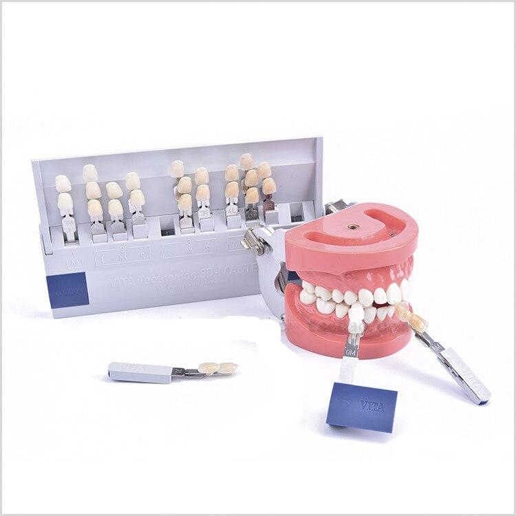 Haute qualité 1 set Guide de cure-dents 3D 29 couleurs avec des nuances de porcelaine blanchie pour les traitements de blanchiment des dents livraison gratuite