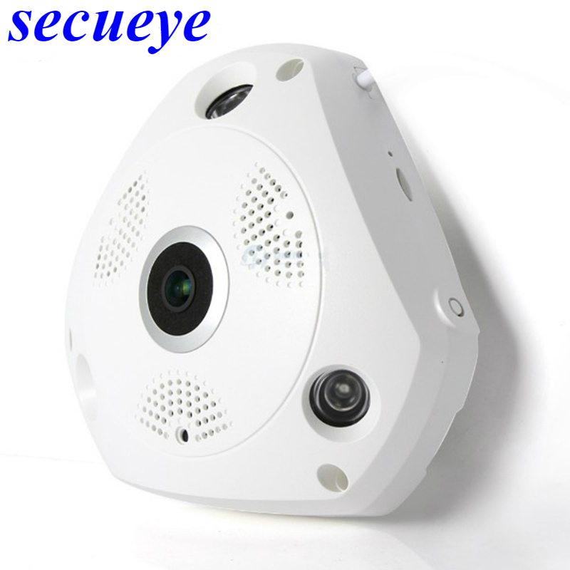 Secueye 5MP Беспроводная CCTV 360 градусов панорамная камера рыбий глаз камера 5MP wifi ip камера домашняя камера видеонаблюдения система - 3