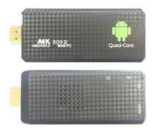 1PCS MK809 Quad Core TV Box Stick Media Player Google Android 5.1 RK3229 2GB RAM 8GB WIFI Bluetooth 1080P HDMI Smart TV Dongle