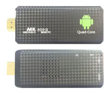 1PCS MK809 Quad Core TV Box Stick Media Player Google Android RK3229 2GB RAM 8GB HDMI Smart TV Dongle 1200+ live tv 1000+ VOD