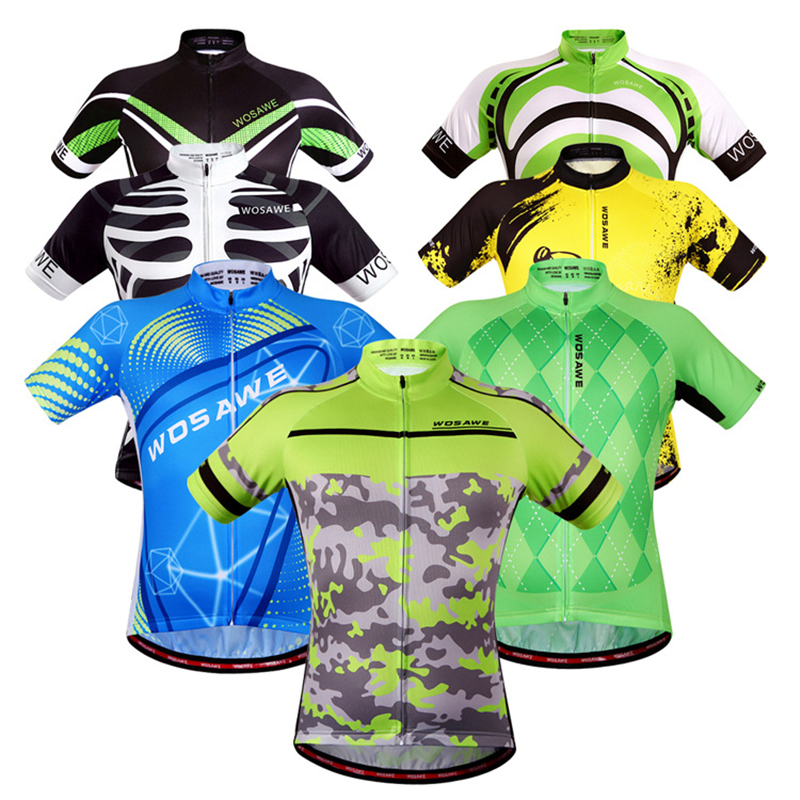 WOSAWE New Cycling Clothing Camouflage Clothes Women Men Cycling Jersey  Jacket Top Quick Dry Outdoor Bicycle Bike Cycling Shirt 39df963c4