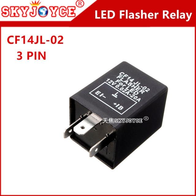 1x 3 Pin Motorcycle Led Flasher Cf14 Jl 02 Flasher Relay