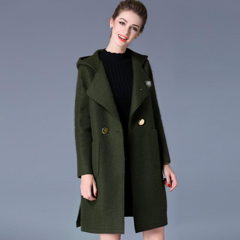 Popular Hooded Pea Coats Women-Buy Cheap Hooded Pea Coats Women
