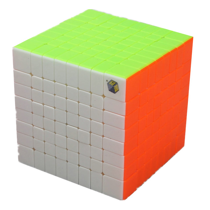 Zhisheng HuangLong 8x8x8 87mm Puzzle Magic Cube Square Smooth Twist Cubo Magico Adult Speed Sticker Cube IQ Intelligence Toys magic cube iq puzzle