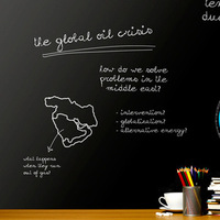 PVC Chalkboard Wall Stickers Removable Blackboard Decals Great Gift For Kids 45CMx200CM 60CM X 200CM