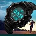 TTLIFE Relógios Homens Pedômetro Digital LEVOU Relógio De Mergulho 50 M Esporte Ao Ar Livre Correndo Estudante Relógio Preto Relógio de Luxo Da Marca 2016 nova