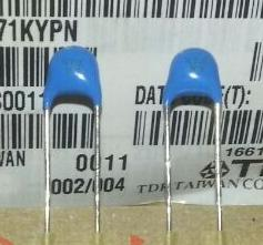 High Voltage Ceramic Capacitor 1KV 471K Capacitor Parts