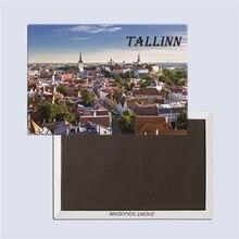Tallinn, Estonia tourist souvenirs, Magnetic refrigerator magnet, Home decoration, Rectangle 78*54mm terhi pääskylä malmström minu tallinn kalevitüdruku kroonika