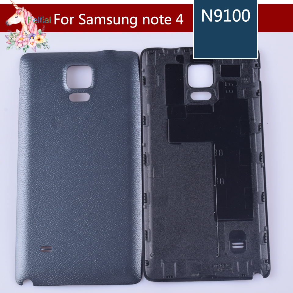 For Samsung Galaxy Note 4 Back Housing For Samsung note4 N9100 Housing Battery Cover Door Rear