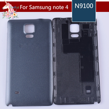 For Samsung Galaxy Note 4 Back Housing note4 N9100 Battery Cover Door Rear Chassis Case