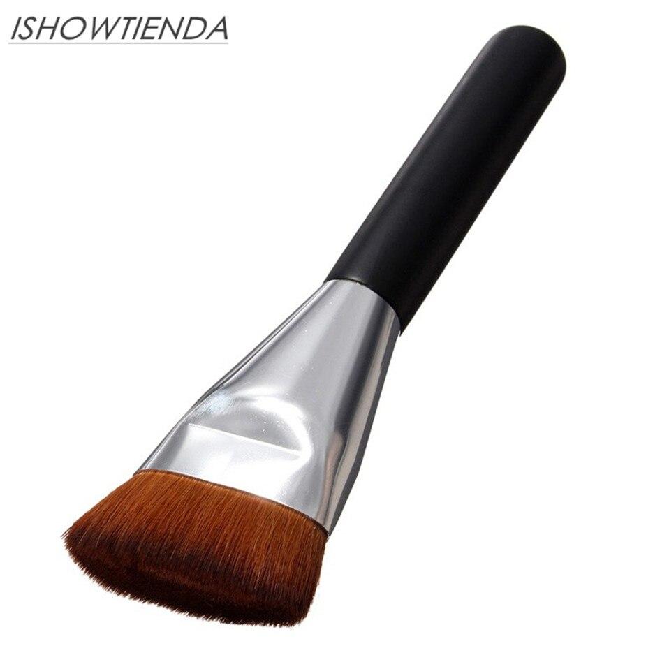 ISHOWTIENDA New Professional Soft Makeup brushes Flat Contour Blush Brush Set Blend Makeup Brushes Comestic pennelli trucco